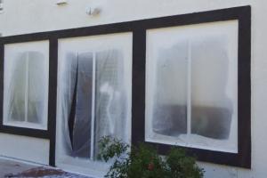 Exterior Painting Window trim